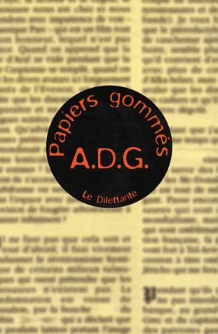 Papiers gommés - ADG